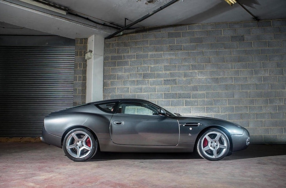 Featured Auction Aston Martin DB Zagato UK Car Auction - Cool cars made in 2001
